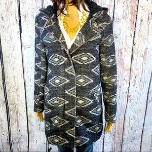 Levi's Aztec Print Wool Winter Lined Jacket XS
